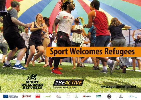 Sport Welcomes Refugees Poster - European Week of Sport 2017