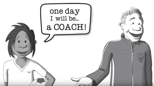 "Sport Welcomes Refugees video - ""One day I will be a coach"""