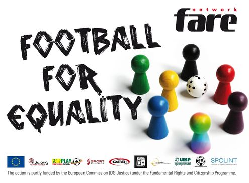 sticker Football for Equality
