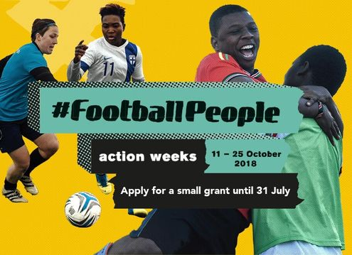 Call for action #footballpeople 2018