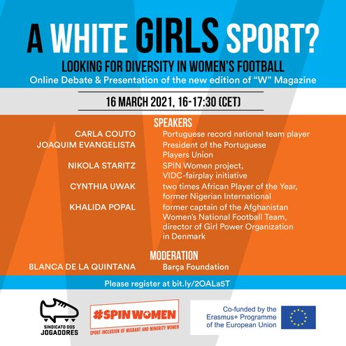"SPIN Women panel discussion ""A white girls sport?"""