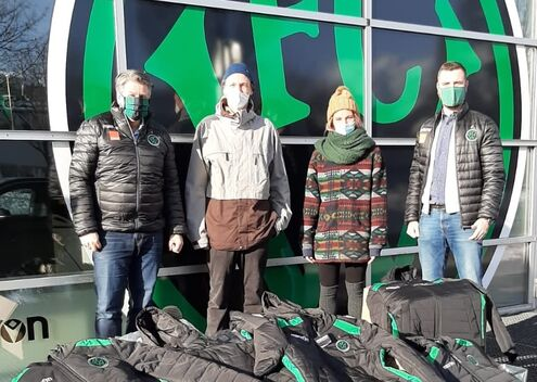 FC Wacker Innsbruck hilft Flüchtlingen in Bosnien