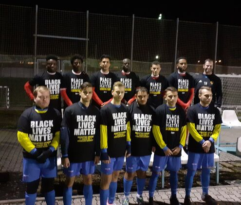MGHRO #BlackLivesMatter football match