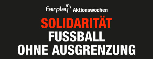 Solidarity - football without exclusion