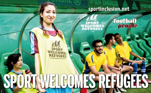 Sport Welcomes Refugees Poster for European Week of Sport 2018