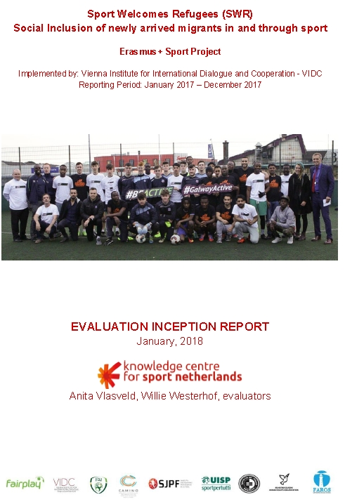 Evaluation Sport Welcomes Refugees (inception report)